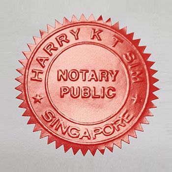 harry sim notary public